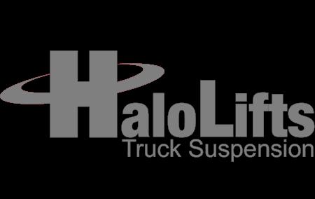 Halo lifts suspension logo
