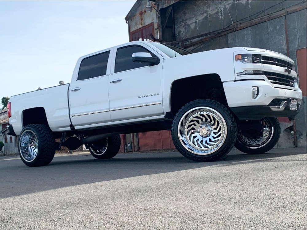 2016 chevy silverado 1500 arkon off-road wheels