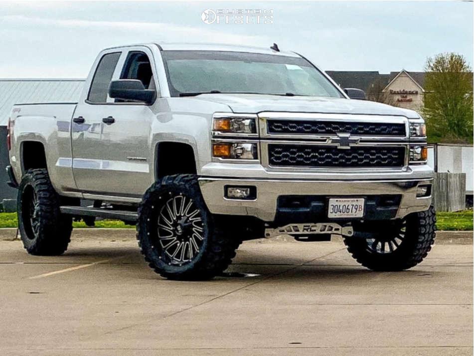 2014 chevy silverado 1500 hardrock wheels gladiator xcomp mt tires