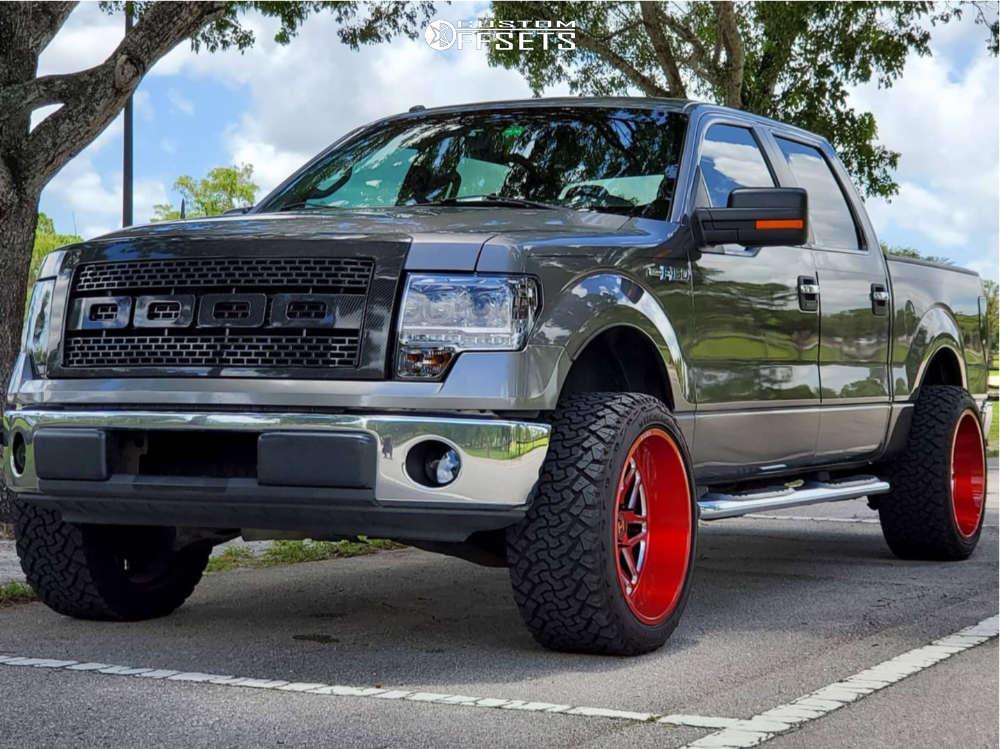 201 ford f150 hostile wheels venom power terra hunter xt tires