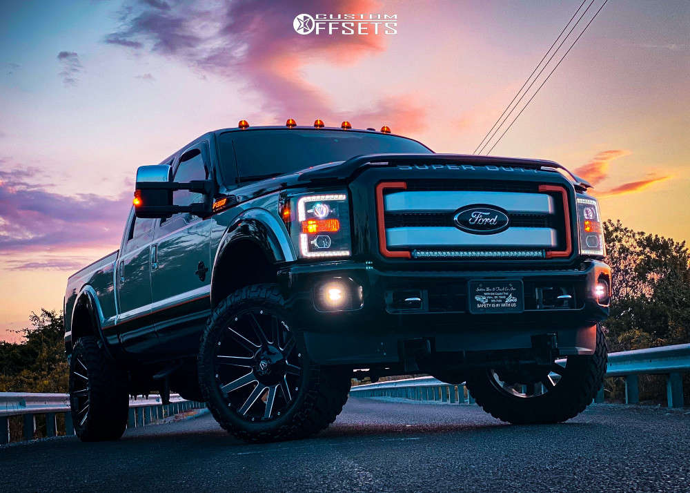 2015 ford f350 super duty fuel contra wheels readylift suspension