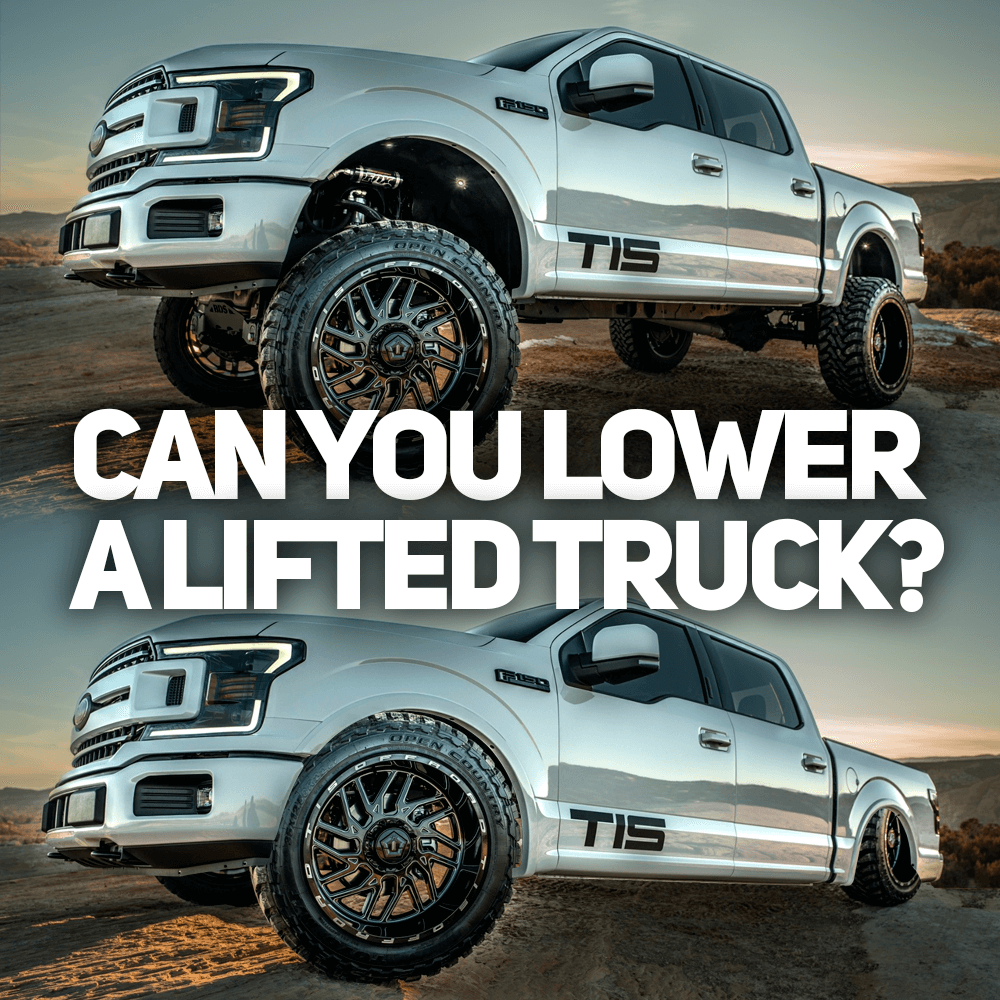 Lower Lifted Truck