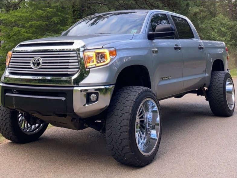 2014 toyota tundra hardcore offroad wheel toyo open country tires