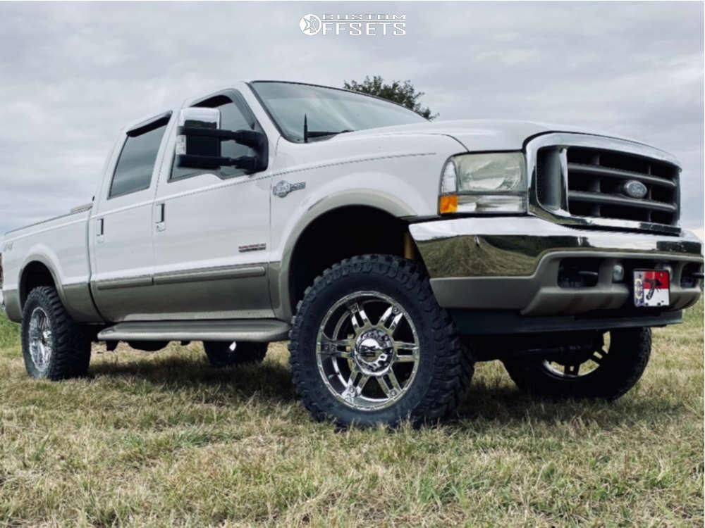 2003 Ford F250 super duty XD spy wheels