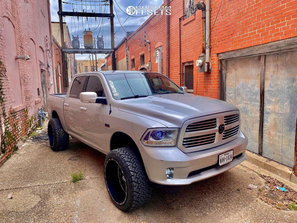 2018 ram 1500 TIS wheels Venom Power Tires
