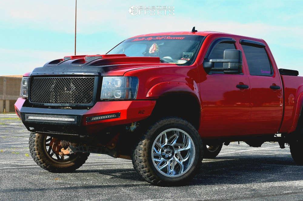 2008 GMC Sierra vision spyder wheels rough country suspenion