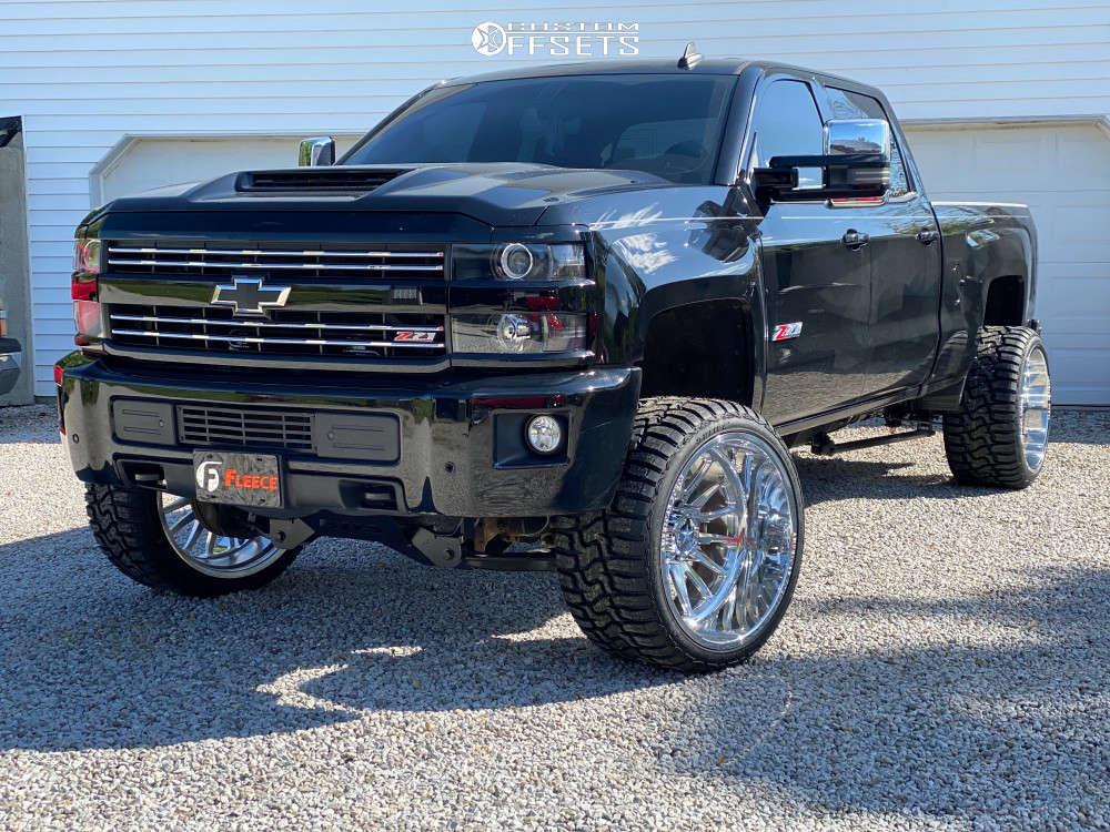 2016 chevy silverado 2500 american force nemesis wheels BDS suspension