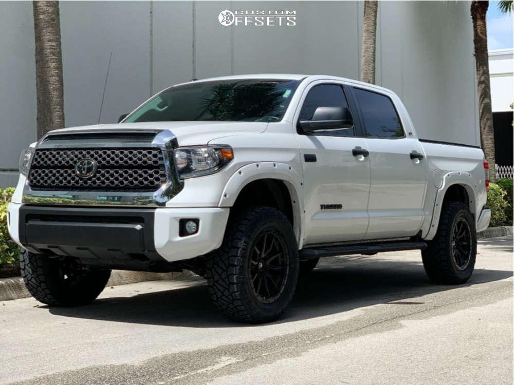 2019 toyota tundra fuel rebel wheels nitto ridge grappler tires BDS suspension