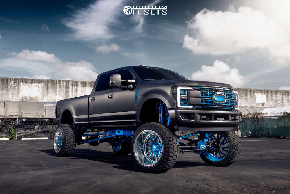 2018 ford f250 super duty specialty forged show wheels