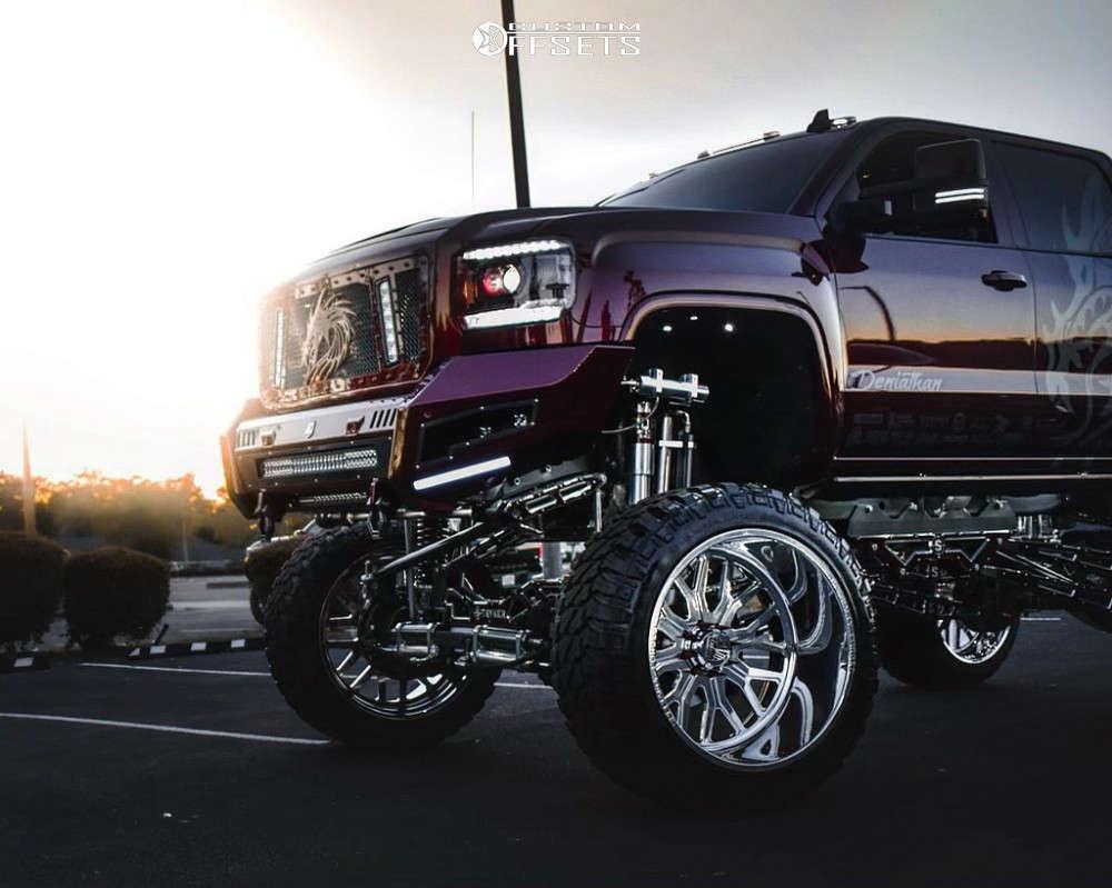 2016 GMC sierra 2500 specialty forged show wheels