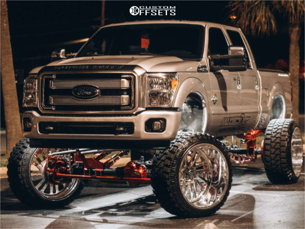 2014 ford f250 super duty specialty forged show wheels