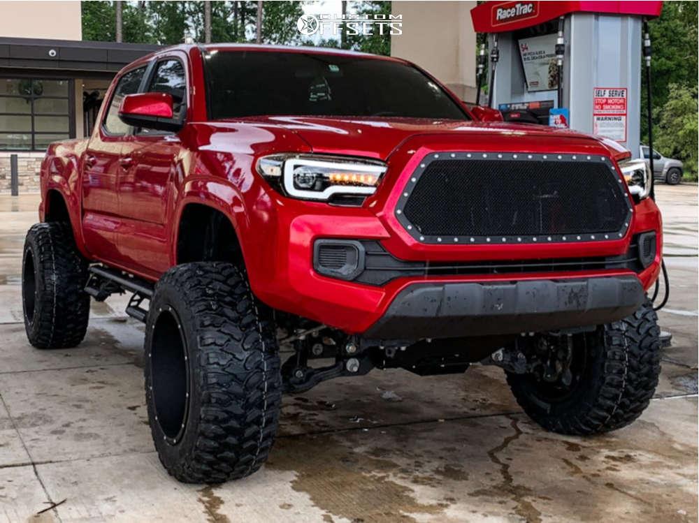 2017 Toyota Tacoma vision rocker wheels