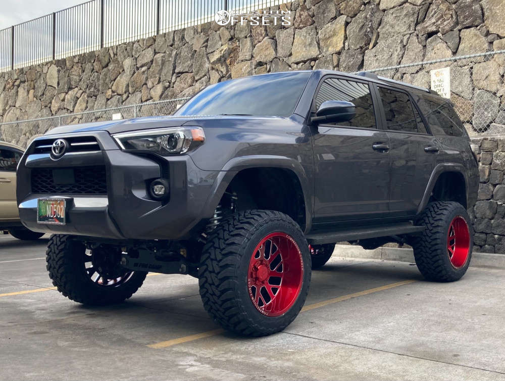 2021 toyota 4runner axe offroad wheels toyo tires pro comp suspension