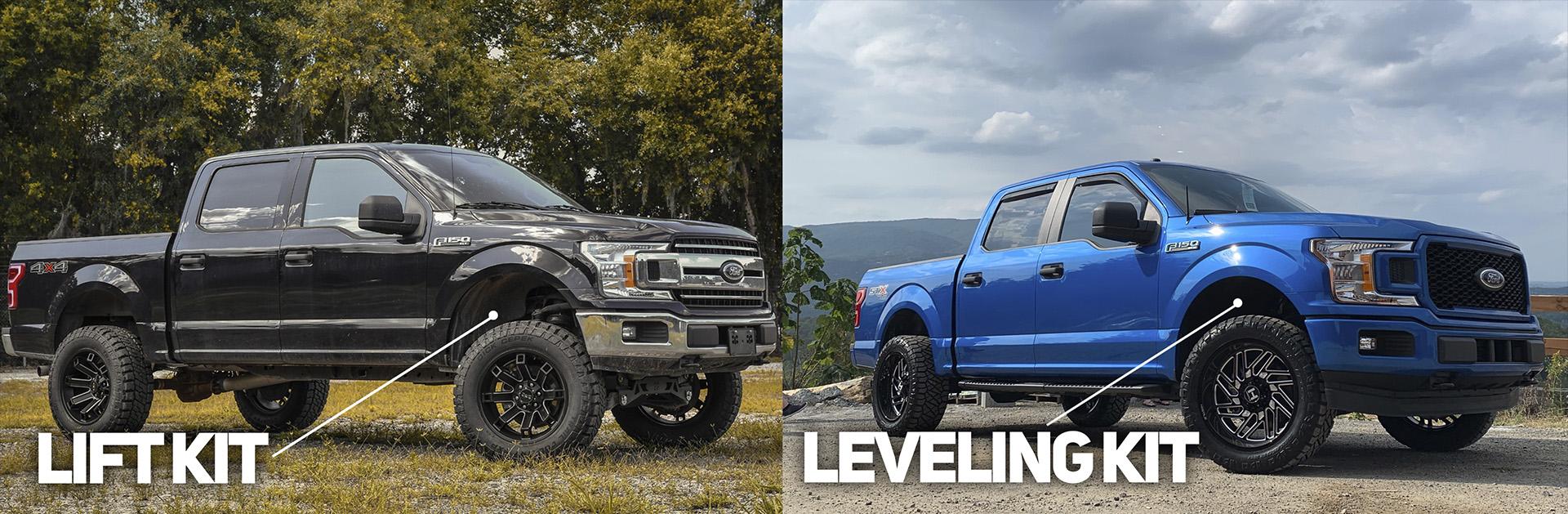 Lift vs Leveling Kit