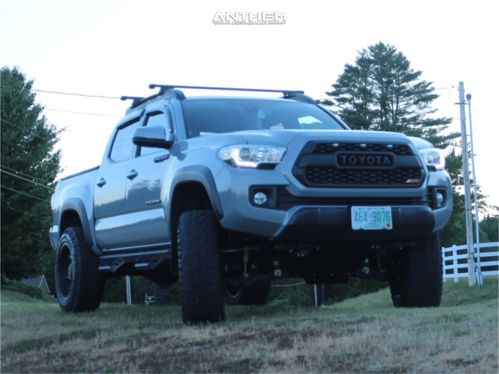 Toyota Tacoma with 4-inch Lift